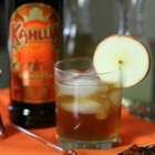 Apple-Pumpkin Spice Cocktail - The sweetness of apple juice, the tartness of lemonade with rich chocolate, coffee and pumpkin of Kahlua Pumpkin Spice make a delicious autumn cocktail.