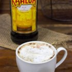 Kahlua Cappuccino - Bring a chocolate-spice twist to your cappuccino with a little Kahlua and a touch of cinnamon.