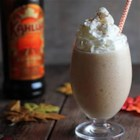 Pumpkin Kahlua Colada - Kahlua Pumpkin Spice with cream of coconut makes a delicious twist on a pina colada.