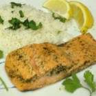 Poached Salmon In The Microwave - Poaching salmon in a buttery white wine sauce in the microwave is a quick and easy method of preparing salmon and will save your kitchen from smelling of fish all evening.