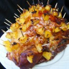 Brown Sugar and Pineapple Glazed Ham  - Sliced fresh pineapple sets this deliciously sweet and fruity glazed ham apart.