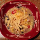 6 Can Chicken Tortilla Soup - Soup doesn't get much more simple than simmering six cans of prepared food together to make a slightly spicy, Mexican-style soup quickly and easily.