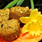 Delicious Vegan Spelt Muffins - Delicious vegan spelt muffin batter turns out crisp and golden on top, dense and hearty inside.