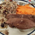 Roast Goose with Wild Rice Stuffing - Another great roasted goose recipe. Perfect for Christmas dinner!
