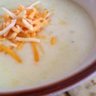 Potato Leek Soup III - Leeks, butter, cream and Yukon Gold potatoes make up this simple, creamy soup.