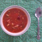 Fat Granny's Minestrone Soup - Fresh vegetables, beans, and elbow macaroni are simmered in a seasoned tomato broth creating a flavorful minestrone soup. Serve with garlic cheese bread and a fresh tossed green salad for a complete meal.