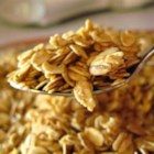 Granola, Honey - Make your own granola sweetened with honey for a hearty way to start the day. Add coconut flakes for extra crunch.