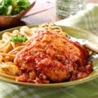 Ragu Skillet Chicken Cacciatore - For a quick and delicious weeknight dinner, this chicken cacciatore with a traditional sauce will be a family favorite choice.
