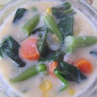"""Easy Cheesy Vegetable Chowder - Cheese and vegetables in a thick and velvety cheese sauce could be called """"extreme comfort food."""""""