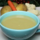 Healthier Potato and Cauliflower Soup - Potatoes and cauliflower combine to create this hearty and comforting soup, perfect for a cold night.