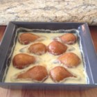 Creamy Baked Pears - Butter, sugar, and a bit of cream are all you need to turn pears into a warm and comforting dessert.