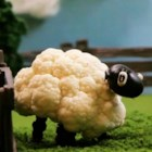 Cauliflower Sheep - Play with your food and make adorable cauliflower sheep using cauliflower florets, olives, raisins, and black-eyed peas.