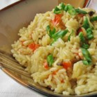 Tasty Spicy Rice Pilaf - Roasted red pepper, onion, garlic, and mushrooms turn plain rice into a spectacular side dish.