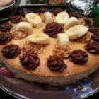 "Banana Peanut Butter Cheesecake aka ""The Elvis"" - A cheesecake with the irresistible flavors of peanut butter and bananas would be a great dessert for celebrating Elvis's birthday this year. Garnish sides of cake with toasted coconut and top with a simple ganache if desired."