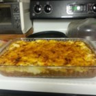 A Scotsman's Shepherd Pie - Shepherd's pie with sharp Cheddar cheese, smoked paprika, and lamb is a Scottish twist on the traditional Irish recipe.