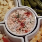 Party Shrimp Dip - This shrimp and cream cheese dip is an easy appetizer for whatever the occasion.