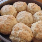 (Big as a) Cathead Biscuits - This recipe yields big, big biscuits (hence the name) for the big, big biscuit eater at your breakfast table.