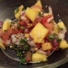 DSF's Fresh Mango Salsa - This is a very quick and easy mango salsa recipe that tastes great on tacos, fajitas, or just as another dip for chips.