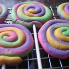 Play Dough Cookies - Swirls of color, similar looking to Play Doh.