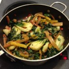 Lemon-Garlic Rainbow Chard - I love greens, garlic, and lemon!  This blends all three for an awesome tasting side dish.