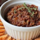 Chef John's Bacon Jam  - Crispy bacon with sauteed onions, brown sugar, sherry vinegar, seasonings, is finished off with aged balsamic vinegar and olive oil.