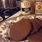 Eggless Ginger Cookies - A great eggless recipe.