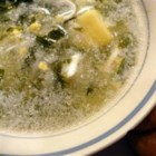 Green Borscht - This Russian-inspired soup is made with potatoes, spinach, parsley, and chopped hard-cooked eggs. Serve with a dollop of sour cream.