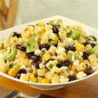 Ditalini Salad with Black Beans, Corn, Lime, Cotija Cheese and Avocado - Great flavors of the southwest--cilantro, lime, cotija cheese--combine for a delicious pasta salad with black beans.