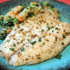 Easy Baked Tilapia - Just 35 minutes and six simple ingredients are all you need for this top-rated, flavorful tilapia recipe.
