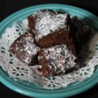 Red Velvet Brownies - These red velvet brownies get an extra kick from a bit of red pepper!