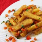 Polenta Fries - This is a great twist on the traditional french fry. If you don't want to go to the trouble of making your own by scratch, you can always buy prepared polenta at just about any grocery store, slice them into fries, and fry.