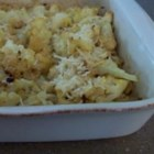 Cheesy Baked Cauliflower - A delicious cheesy cauliflower dish.