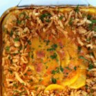 Grandma's Ham Casserole - A simple, yet elegant casserole that's ideal for getting rid of that leftover ham. Carrots, potatoes and mushrooms are used to help complement this dish. Great when served with salad and biscuits.