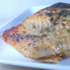 Salmon with Dill - Baked salmon with onion powder and dried dill weed. With just a hint of seasoning, you can make salmon taste delicious.