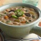 White Chicken Chili with Salsa Verde - The slow cooker does all the work for this savory soup.