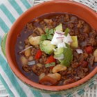 Chef John's Italian Sausage Chili - Give your chili an Italian twist with this recipe featuring Italian sausage, cannellini beans, and a touch of basil.