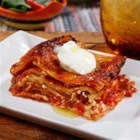 Barilla(R) Wavy Lasagna with Italian Sausage and Barilla(R) Marinara Sauce - Marinara sauce and sausage make a hearty addition to this lasagna with wavy noodles, ricotta and Parmigiano-Reggiano cheese.