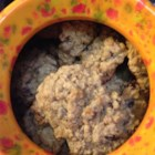 Chewy Oatmeal Cookies II - Tasty oatmeal cookies with walnuts and a hint of cinnamon.