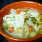The Best Slow Cooker Chicken Soup - This soup for the slow cooker uses a can of potato soup and prepared stock to get you started on you way to a chicken and vegetable soup that will warm your belly.