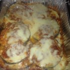 Eggplant Parmesan For the Slow Cooker - Make a big batch of eggplant Parmesan in your slow cooker and dinner will be waiting when you get home. No need to heat up your kitchen baking in an oven.