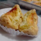 Portuguese Egg Tarts - Using a boxed pie crust mix makes these sweet and golden Portuguese egg tarts so easy to make.