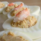 Deviled Eggs Chesapeake - If you like Chesapeake Bay, Maryland-style crab cakes, you'll love these crab meat deviled eggs.