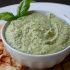 Chef John's Green Hummus - This simple, basil-spiked 'green' hummus is a great summer twist on everyone's favorite spread.