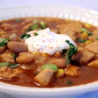 White Bean Chicken Breast Chili - I love a hearty beef chili as much as the next guy, but once in a while there's nothing wrong with going over to the light side and enjoying an equally comforting bowl of white bean and chicken chili.