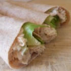 Tor-Tunas - Tuna salad is rolled inside a tortilla, creating a kid-pleasing 'tor-tuna' that is perfect for lunch boxes or on-the-go eating.