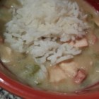 Slow Cooker Chicken and Sausage Gumbo - Slowly cooking the roux brings a deliciously authentic taste to this simple gumbo.