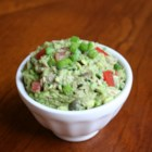Paleo Tunamole - This mixture of tuna, avocado, capers, and tomatoes is a quick and easy paleo-friendly salad you can also serve as a dip.