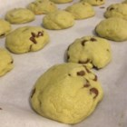 Matcha Green Tea Chocolate Chip Cookies - White chocolate chip cookies get a fun green twist with the addition of matcha green tea powder to the mix.