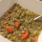 Lebanese Lemon Lentil Soup - This Lebanese-inspired lentil soup will keep you warm with a nice variety of herbs and spices. Serve with a wedge of lemon and a sprinkle of fresh parsley.