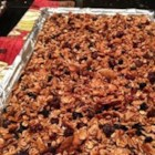 Addictive and Healthy Granola - Make your own addictive granola using oats, puffed rice, coconut, nuts, and dried fruit. Rosewater is the secret ingredient!
